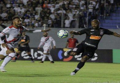 Ferroviário apenas empata com o Corinthians e está eliminado da Copa do Brasil