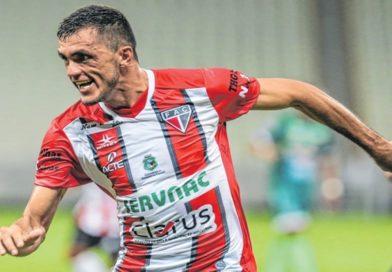 Edson Cariús do Ferroviário é artilheiro do Brasil na Temporada 2019