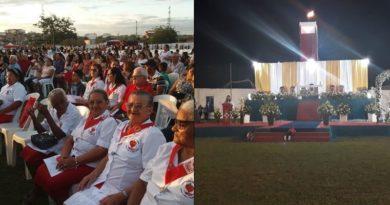 BOA VIAGEM – Mais de 3 mil pessoas celebram Pentecostes