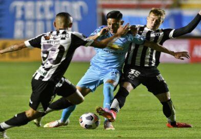 Ceará é o primeiro clube brasileiro a não sofrer gol como visitante contra o Bolívar