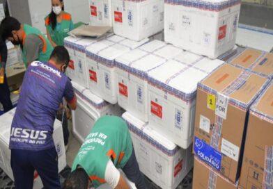 Governo Federal envia 320 mil doses de vacina contra Covid-19 para o Ceará neste fim de semana