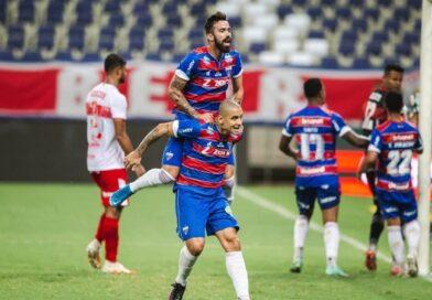Fortaleza vence o CRB de virada no Castelão e sai na frente pelas oitavas da Copa do Brasil